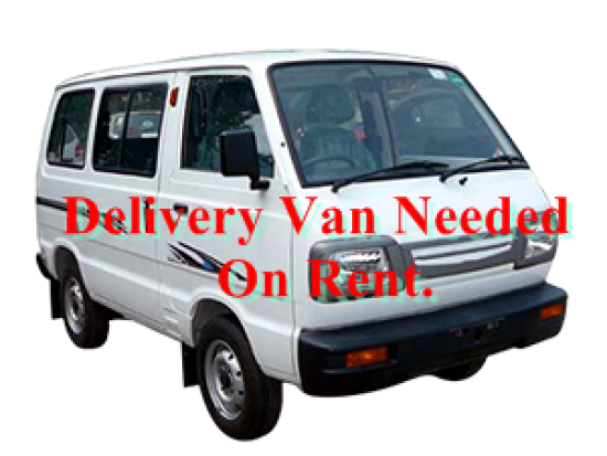 On Rent : Delivery Van With Driver