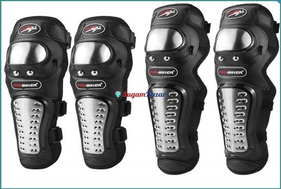 PRO-Biker Knee Pads Set of 4