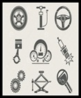 Auto parts and Materials